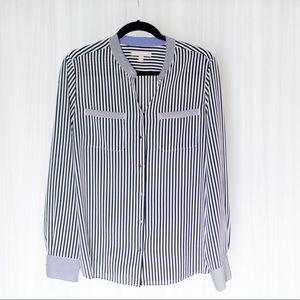 Flowy striped top